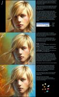 PS - quick hair tutorial by ceruleanvii