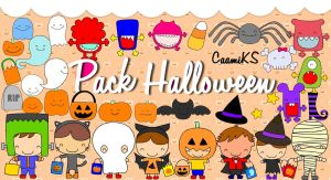 +Pack Halloween By CaamiKS by CaamiKS