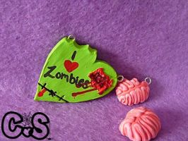 Zombie Charms by The-Killer-Anna