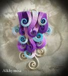Wind in Purple 1 by Alkhymeia