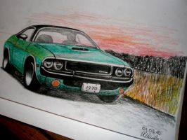 Dodge Challenger by Renet555