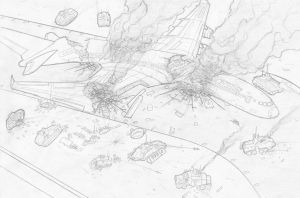 Battle of Terminal I4 by VoughtVindicator