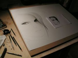 drawing in progress by Marion84