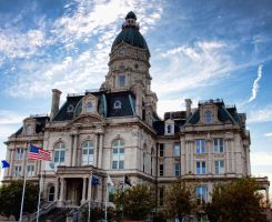 Vigo County Courthouse by damager81