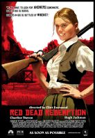 Red Dead Redemption starring Charlize Theron by Seblecaribou