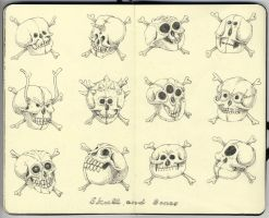 Skull and bones by MattiasA