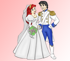 Ariel's Wedding by BananaGirls