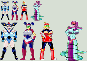 Star Force Big Bust by CaseterMK