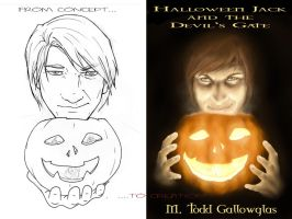 Halloween Jack cover concept and creation by lexophile42