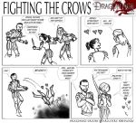 DAO: Fighting the Crows by SoniaCarreras