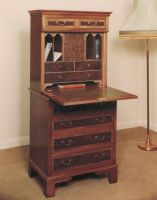 Secretaire in Walnut by Rockinfroggi