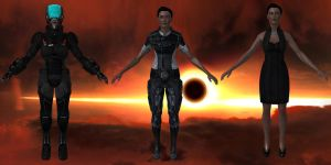 Custom Shepard of The-Resident-Devil for XPS by Melllin