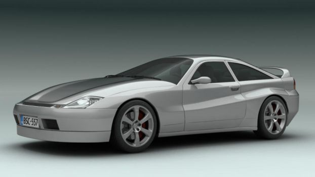 Eien Coupe - Concept Car by JetroPag