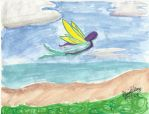 Flying Niamph by psychoviolinist1012