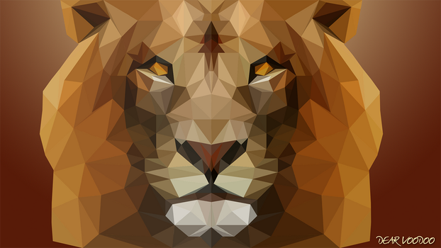 Lion - LowPoly - [HD-720p] by DearVooDoo