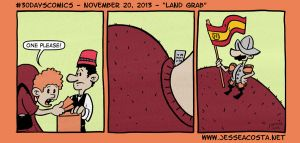 30 Days Comic Challenge Day 20 Land Grab by JesseAcosta
