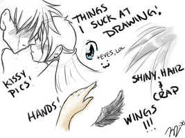 Things I Need to Work On, Lawl by affy-hedgefoxbat