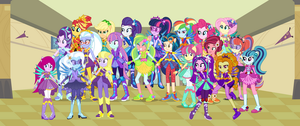 Equestria Girls: Harmony Defenders by 3D4D