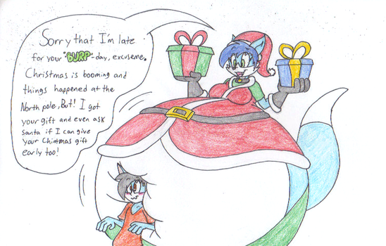 2 Gifts and 1 Big Suprise by dragovian15