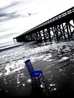 Blue Chair by vincenthrd1