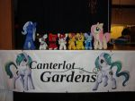 Canterlot Gardens!! by PlanetPlush