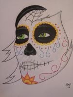 Day of the Dead Girl by zelo75