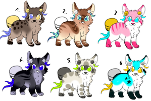CLOSED - Bell-Tails Adoptables 404 by LeaAdoptables