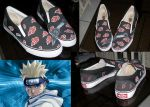 akatsuki customized shoes by markthat