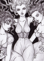 The Brides of Dracula by dpdagger