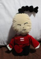 Plushie: I-pin from Katekyo Hitman Reborn by littlemissmarikit