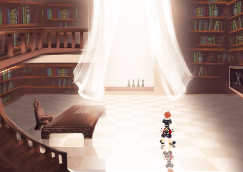 Kingdom Hearts III Rendition - Study Room by zephyr-flutist