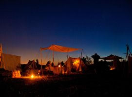 Camp at Dawn by SpeculumHistoriae