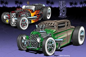 2 Cool Hot Rods by Britt8m