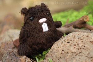 Beaver Plush by MyBeautifulMonsters