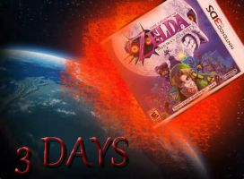 3 DAYS.... until Majora's Mask 3d by NekoKyandiChan