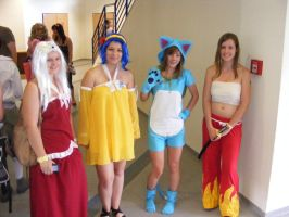 Fairy Tail cosplay by Redzs00