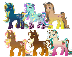 FREE Pony adoptables CLOSED by rosie6000
