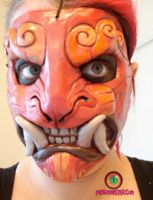 Foo mask plus makeup by missmonster