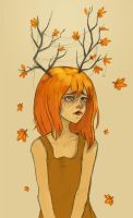 Autumn  Girl by Morbidouce