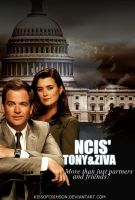 NCIS' Tony and Ziva by KissofCrimson