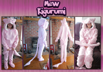 .: Finished Mew Kigurumi :. by Tigerman-exe