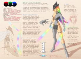 RGB Design Sheet OC by JasonCardy