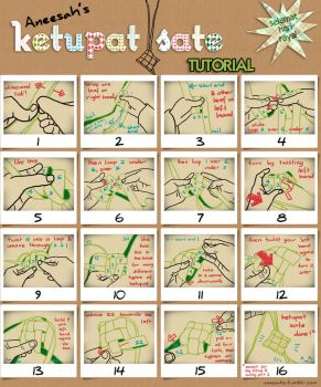 Ketupat weaving tutorial by aneesah