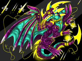Dragon of Destruction by iSapphirus