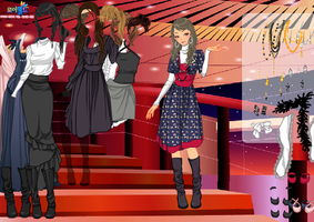 Awards Show Stairs - Dress up Game by willbeyou