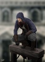 The Perched Eagle - AC Unity by DELIRIO88