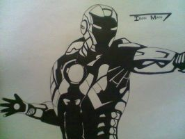 The Iron Man by MadaraAssassin