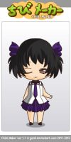 ChibiMaker chibi by scarymovie13
