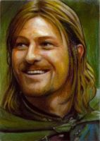 Boromir card 189 by charles-hall