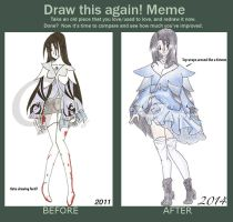 Before and After - Lenne by MeetMeWithThegods